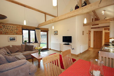 The Cow Byre holiday cottage, Norfolk